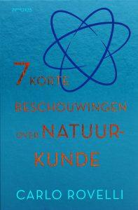 omslag zeven korte beschouwingen over natuurkunde
